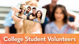 Arts in Medicine College Student Volunteers