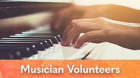 Arts in Medicine Musician Volunteers