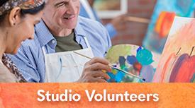 Arts in Medicine Studio Volunteers